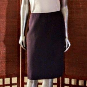 ✳3 for $25🛑Ellen Tracy Purple Wool Pencil Skirt